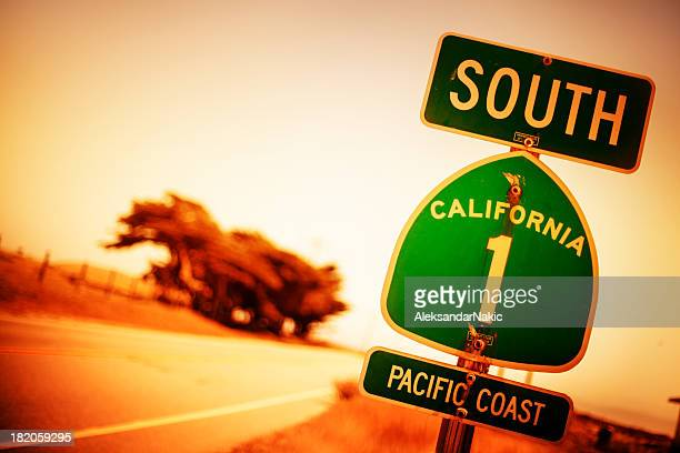 Pacific Coast Highway Road Sign