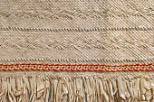 Pacific island weaving artwork. Abstract  background texture.