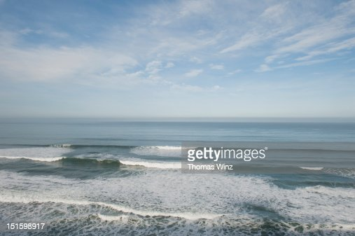 Pacific ocean : Stock Photo
