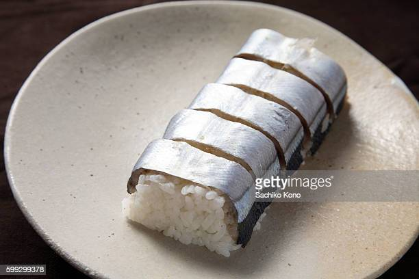 Pacific Saury Sushi