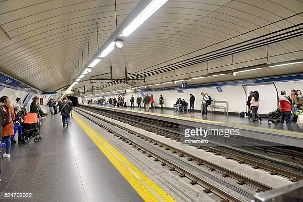 La estación de Metro del Pacífico