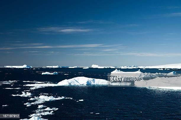 Plaque de glace de l'Antarctique