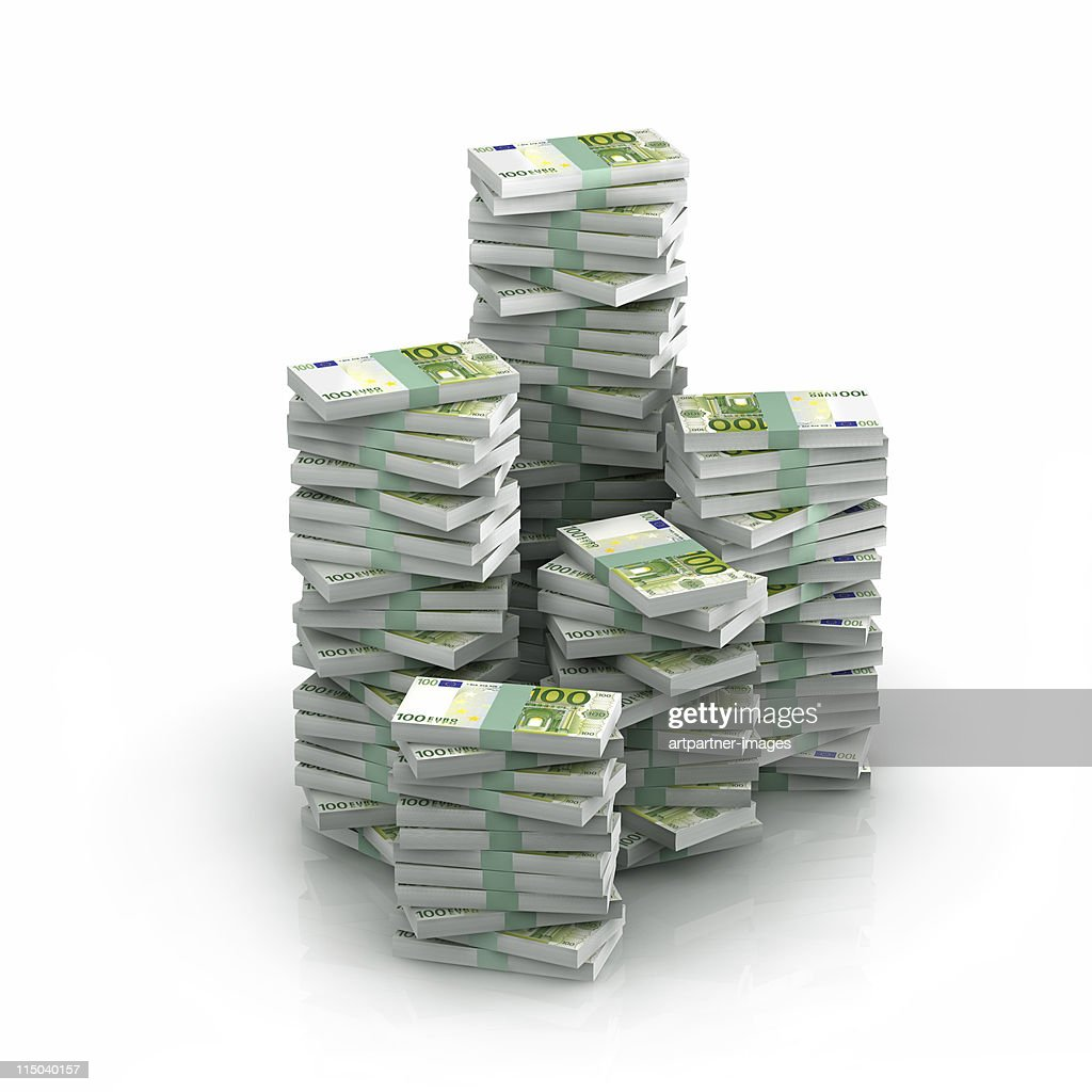 Pack of 100 euro
