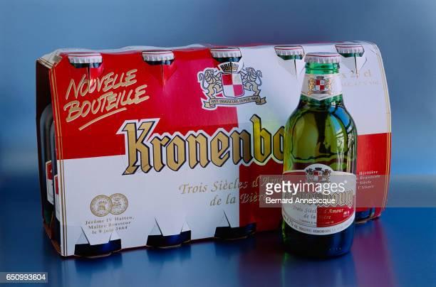 Pack of Kronenbourg Beers