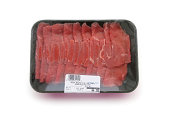 Packaged Meat with Clipping Path