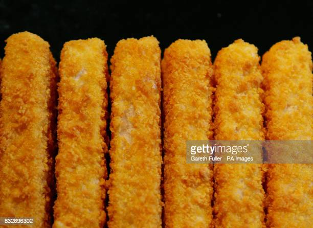 Packets of Birdseye Fish Fingers in a freezer near Ashford in Kent as the Birdseye factory in Hull prepares for closure