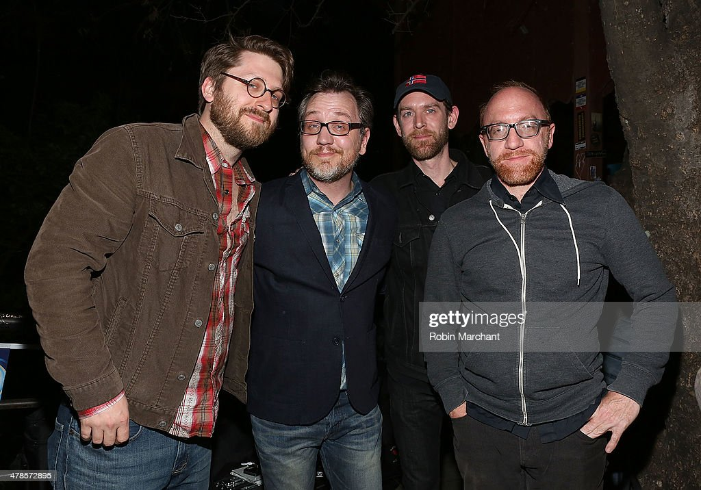 Packy Lundholm Chris Mills Justin Sherburn and Ryan Hembrey of Chris Mills attend GRAMMY Museum SXSW Showcase Musical Milestones The Rolling Stones...