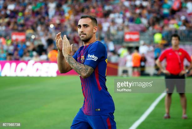 Paco Alcacer during the presentation of the team 201718 in Barcelona on August 07 2017 Photo JoanValls/Urbanandsport/Nurphoto
