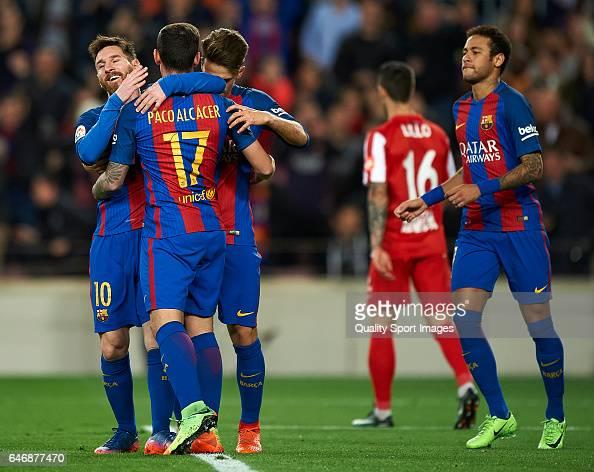 FC Barcelona v Real Sporting de Gijon - La Liga : News Photo