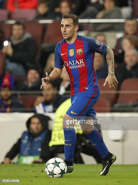 Paco Alcacer of FC Barcelonaduring the UEFA Champions League group C match between FC Barcelona and Borussia Monchengladbach on December 06 2016 at...