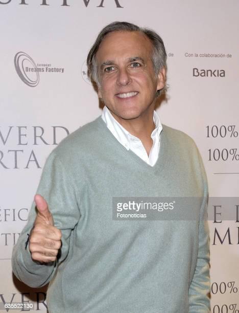 Paco Arango attends the 'Lo Que De Verdad Importa' premiere at the Hotel Vincci Capitol on February 15 2017 in Madrid Spain