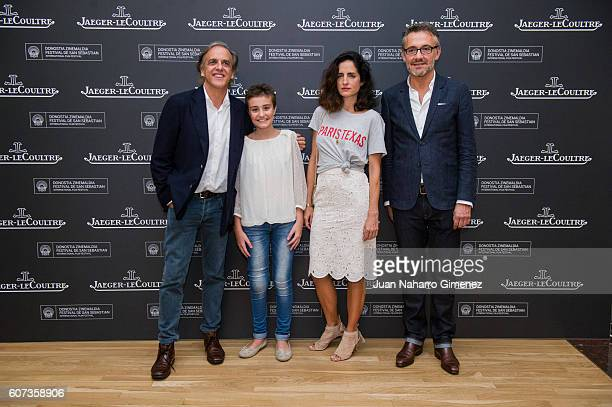 Paco Arango Esther Carolina Herrera and Laurent Vinay attend 'Un achuchon por la UCI del Nino Jesus' press conference a charity project sponsored by...