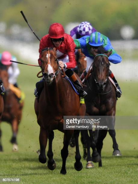 Paco Boy ridden by Richard Hughes goes on to win totesportcom Lockinge Stakes at Newbury Racecourse