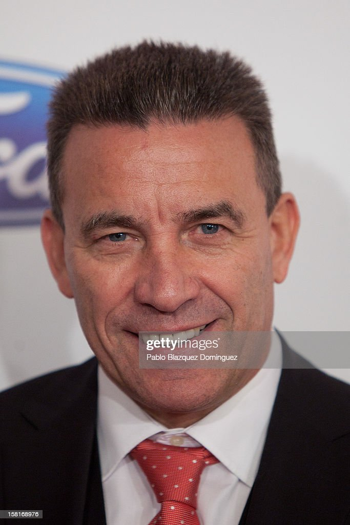 Paco Buyo attends 'As Del Deporte' Awards 2012 at The Westin Palace Hotel on December 10, 2012 in Madrid, Spain.