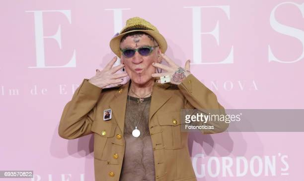 Paco Clavel attends the 'Pieles' premiere pink carpet at Capitol cinema on June 7 2017 in Madrid Spain