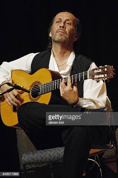 Paco de Lucia Musician Guitarist Flamenco Jazz Spain performing in Hamburg Germany