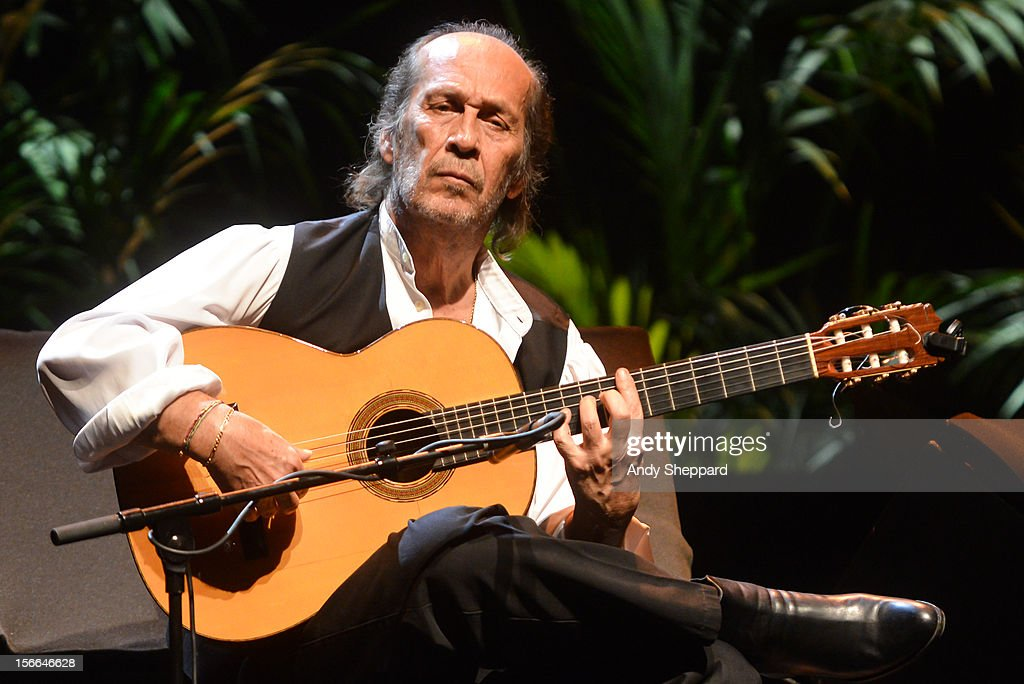 Paco De Lucia performs on stage at Royal Festival Hall during the London Jazz Festival 2012 on November 16, 2012 in London, United Kingdom.