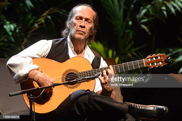 Paco De Lucia performs on stage at Royal Festival Hall during the London Jazz Festival 2012 on November 16 2012 in London United Kingdom