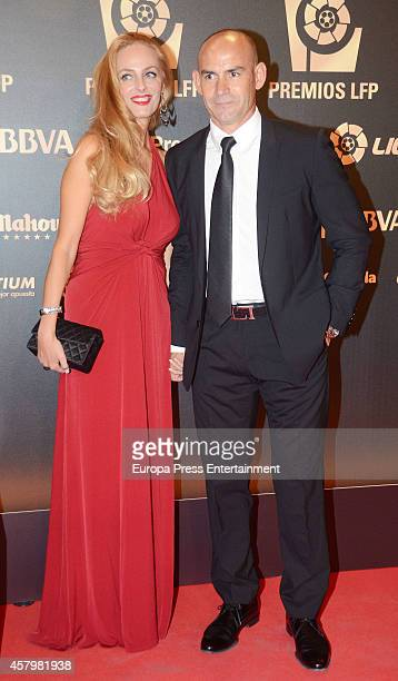Paco Jemez attends the LFP Awards Gala 2014 on October 27 2014 in Madrid Spain