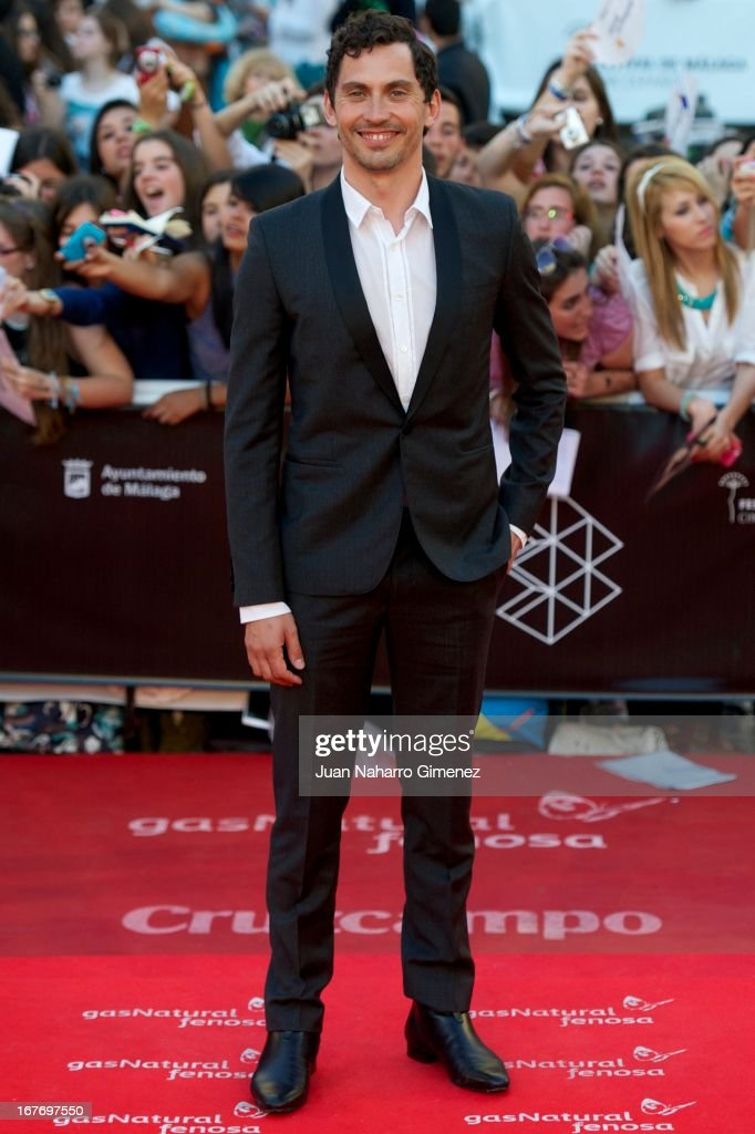 Paco Leon attends 16 Malaga Film Festival ceremony at Teatro Cervantes on April 27, 2013 in Malaga, Spain.