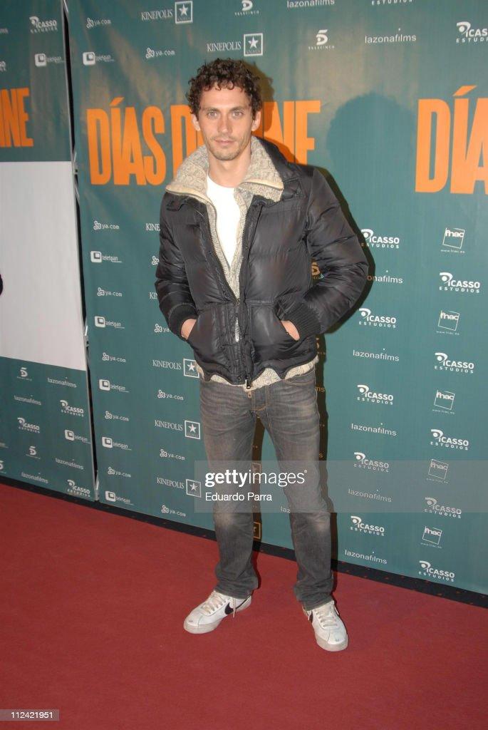 Paco Leon during 'Cinema Days' Madrid Premiere at Kinepolis in Madrid, Spain.