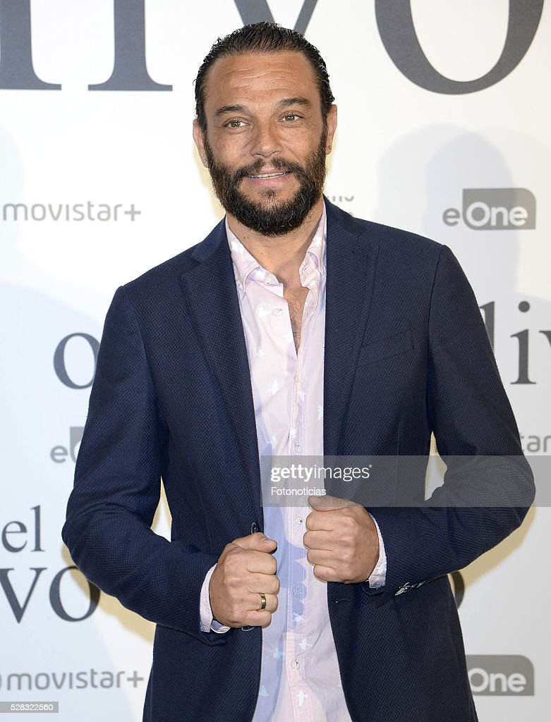 Paco Manzanero attends the premiere of 'El Olivo' at the Capitol cinema on May 4, 2016 in Madrid, Spain.