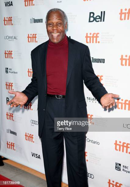 pActor Danny Glover attends the 'Casting By' premiere during the 2012 Toronto International Film Festival at the Ryerson Theatre on September 10 2012...
