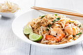 Sitr Fried Rice Noodles With Shrimp