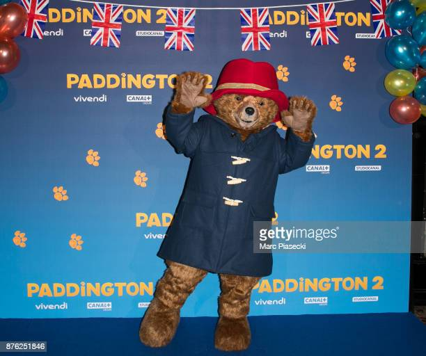 Paddington attends the 'Paddington II' Premiere at L'Olympia on November 19 2017 in Paris France