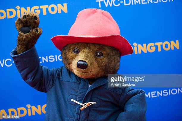 Paddington Bear attends the Los Angeles premiere of 'Paddington' at TCL Chinese Theatre IMAX on January 10 2015 in Hollywood California