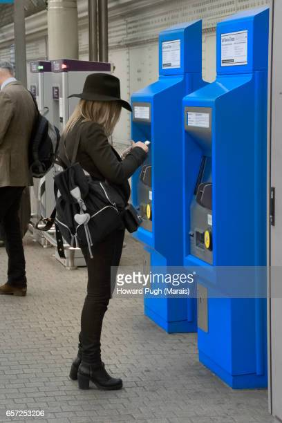 Paddington Railway Station Ticket Machines