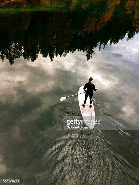 Paddleboard in the Clouds