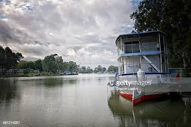 Paddlesteamer on the Murray River