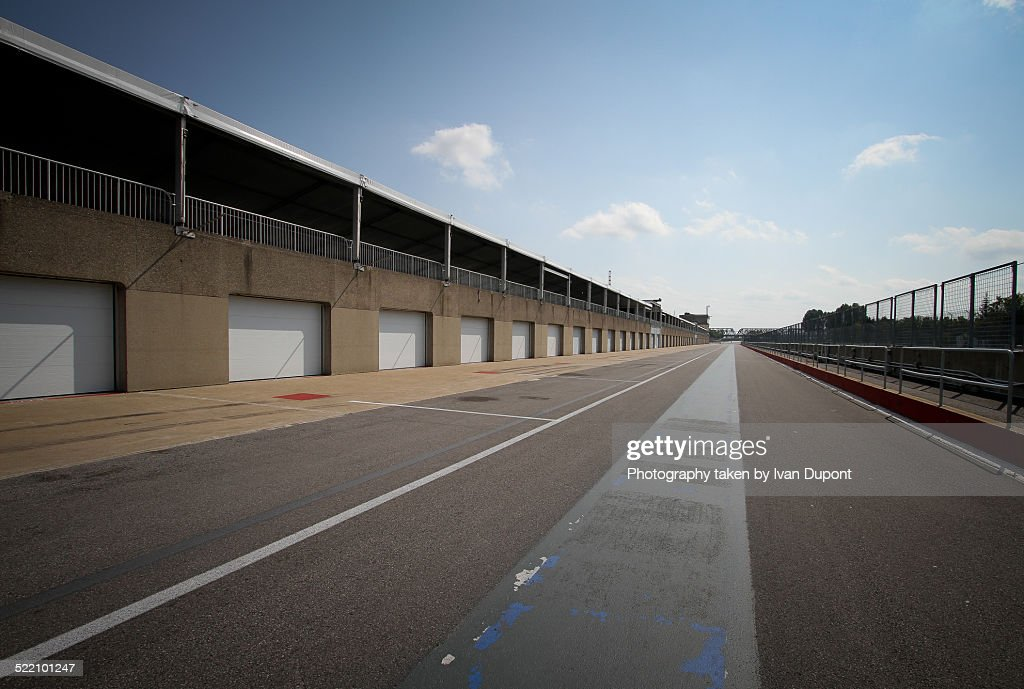 Paddocks on Jacques Villeneuve circuit