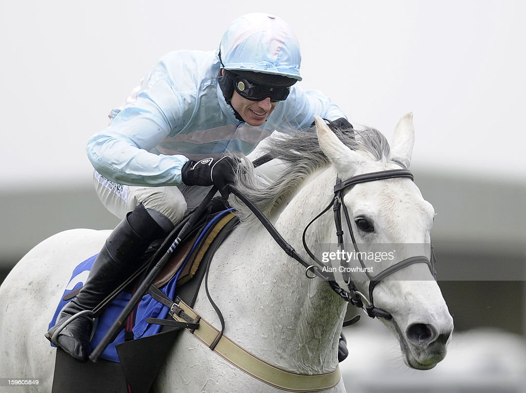 <a gi-track='captionPersonalityLinkClicked' href=/galleries/search?phrase=Paddy+Brennan&family=editorial&specificpeople=241422 ng-click='$event.stopPropagation()'>Paddy Brennan</a> riding Chartreux clear the last to win The Higos Insurance Services Somerset National Handicap Steeple Chase at Wincanton racecourse on January 17, 2013 in Wincanton, England.
