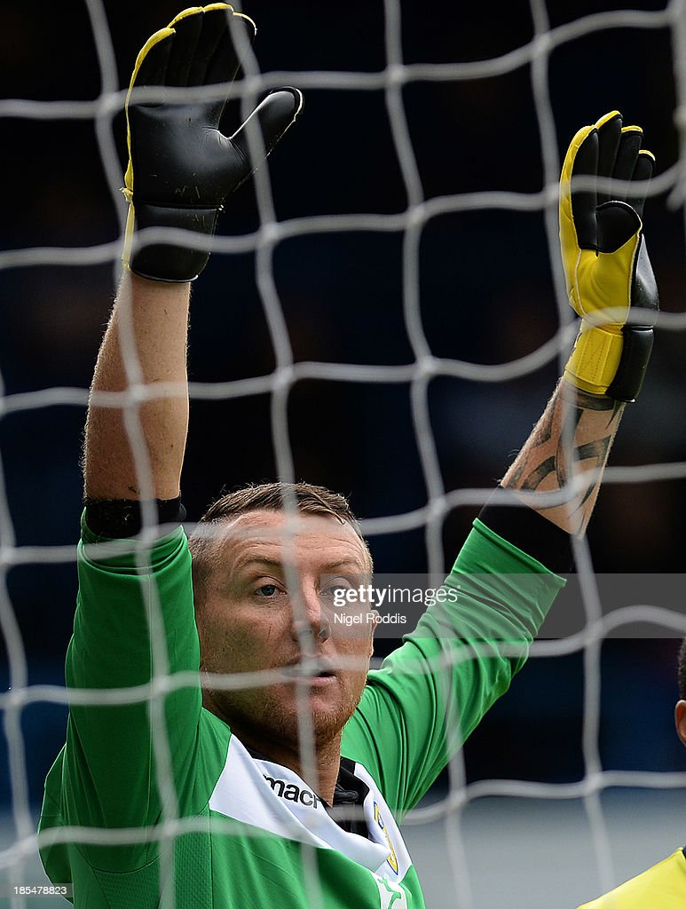 Paddy Kenny of Leeds United during their Sky Bet Championship match between Leeds United and Birmingham City at Elland Road Stadium on October 20, 2013 in Leeds, England.