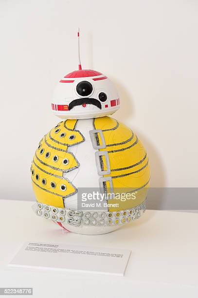 Paddy McGuiness's Design at the Star Wars The Force Awakens BB8 GREAT Exhibition and Auction in aid of Great Ormond Street Hospital Children's...