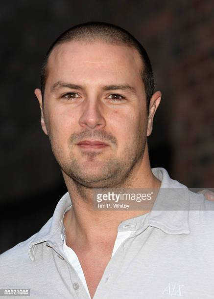 Paddy McGuinness arrives for the VIP screening of 'I Love You Man' at the Soho Hotel on April 8 2009 in London England