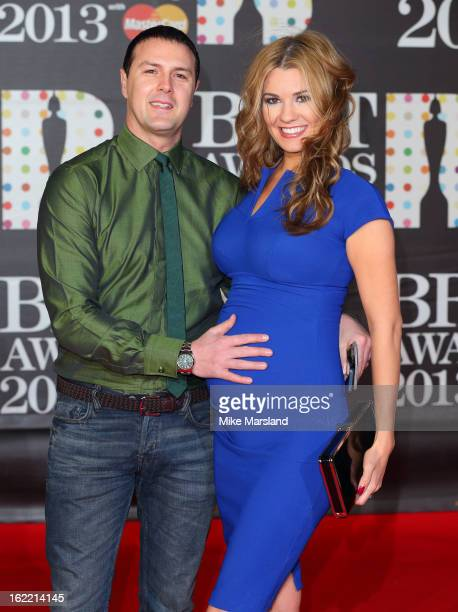 Paddy McGuinness attends the Brit Awards at 02 Arena on February 20 2013 in London England