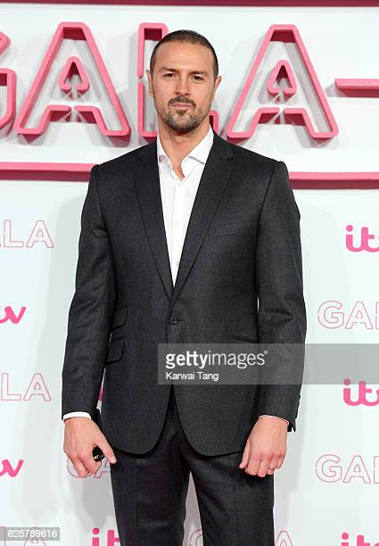 Paddy McGuinness attends the ITV Gala at London Palladium on November 24 2016 in London England