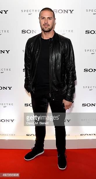 Paddy McGuinness attends the launch event for Sony technology 'Made for Bond' featuring the RX100 IV camera and Xperia Z5 at the Mondrian Hotel on...