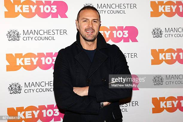 Paddy McGuinness attends the Manchester Christmas Lights Switch On event on November 4 2016 in Manchester England