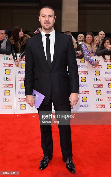 Paddy McGuinness attends the Pride of Britain awards at The Grosvenor House Hotel on October 6 2014 in London England