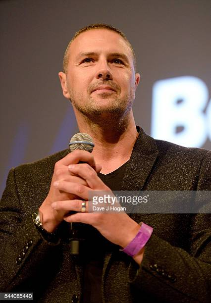Paddy McGuinness on stage during the Nordoff Robbins O2 Silver Clef Awards on July 1 2016 in London United Kingdom