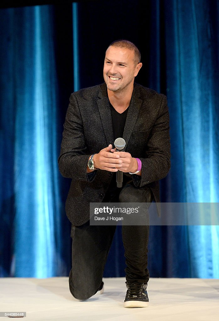 Paddy McGuinness on stage during the Nordoff Robbins O2 Silver Clef Awards on July 1, 2016 in London, United Kingdom.