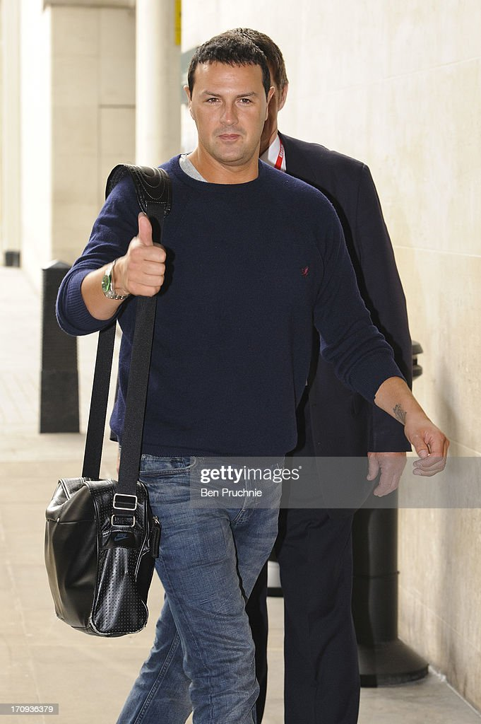 Paddy McGuinness sighted at BBC Radio Studios on June 20, 2013 in London, England.