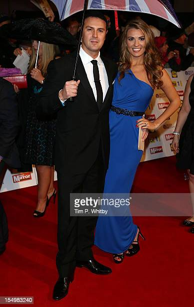 Paddy Mcguinness with Christine Martin attends the Pride Of Britain awards at the Grosvenor House Hotel on October 29 2012 in London England