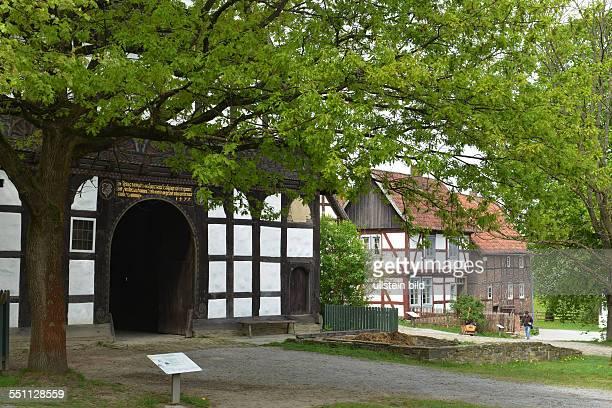 Paderborner Dorf Lippischwestfaelisches Landesmuseum fuer Volkskunde Detmold NordrheinWestfalen Deutschland / westfälisches für