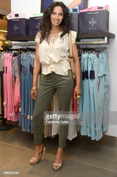 Padma attends the NYDJ Shop Opening Celebration at Bloomingdales at Bloomingdale's 59th Street Store on May 8 2013 in New York City