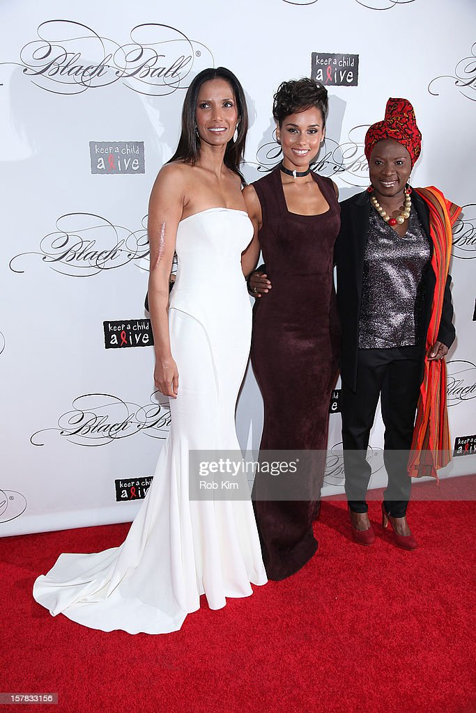 <a gi-track='captionPersonalityLinkClicked' href=/galleries/search?phrase=Padma+Lakshmi&family=editorial&specificpeople=201593 ng-click='$event.stopPropagation()'>Padma Lakshmi</a>, <a gi-track='captionPersonalityLinkClicked' href=/galleries/search?phrase=Alicia+Keys&family=editorial&specificpeople=169877 ng-click='$event.stopPropagation()'>Alicia Keys</a> and <a gi-track='captionPersonalityLinkClicked' href=/galleries/search?phrase=Angelique+Kidjo&family=editorial&specificpeople=213240 ng-click='$event.stopPropagation()'>Angelique Kidjo</a> attend the Keep A Child Alive's Black Ball Redux 2012 at The Apollo Theater on December 6, 2012 in New York City.